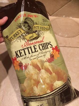 Chips, passend zur Saison