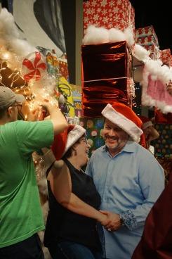Weihnachtsfeier BSSM2 Kris und Kathy Vallotton