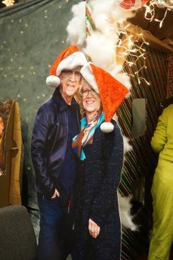 Weihnachtsfeier BSSM2 Bill und Beni Johnson