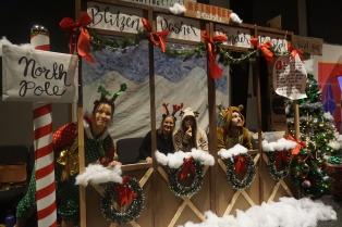 Weihnachtsdeko Santas Rentiere