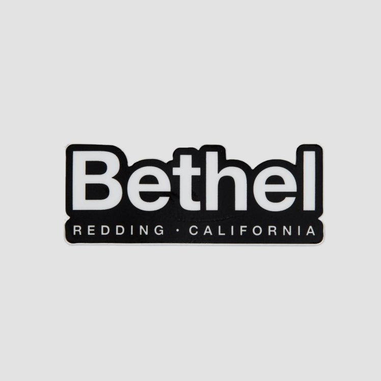 bethel-redding-sticker