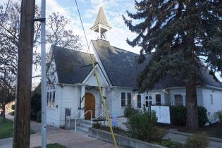 die herzigste kleine Kapelle in Ashland, Oregon